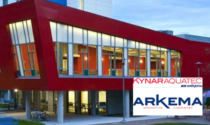 Arkema Inc-Kynar-Aquatec-on demand-AIA HSW-Water-based PVDF Coatings