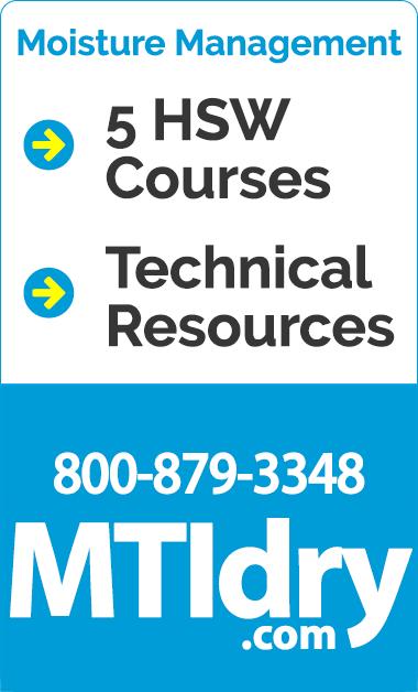 Masonry Technology-Moisture Management-Education-HSW-mtidry.com