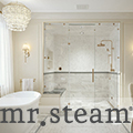 mr steam-Luxurious Bathroom Remodel